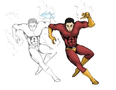Class Superhero Character 2